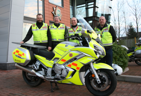 Shropshire,Staffordshire and Cheshire Blood Bikes