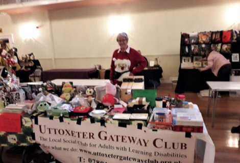 Fundraising at Uttoxeter Makers Market